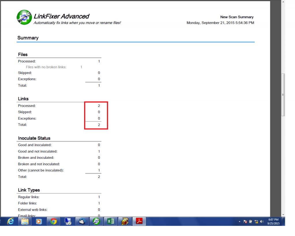 <em></noscript><em>LinkFixer</em> Advanced</em> Summary