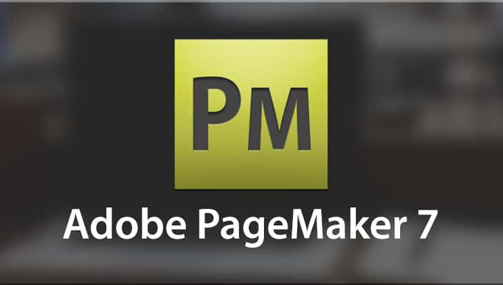 Adobe PageMaker 7 Logo