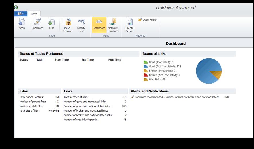 LinkFixer Advanced Dashboard